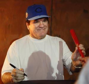 Pete signing